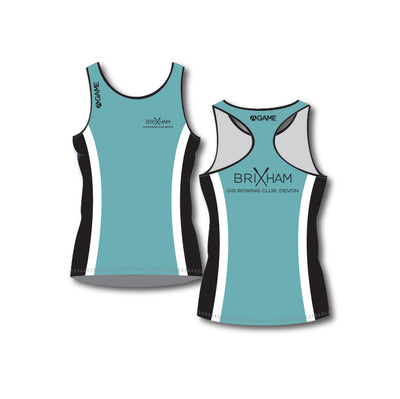 Brixham GC Ladies Racerback Vest LONG
