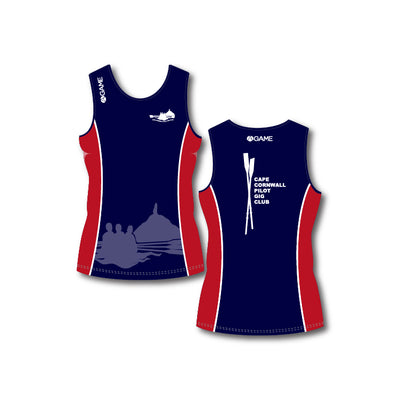 Cape Cornwall PGC Womens Rowing vest