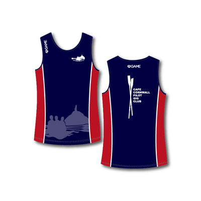 Cape Cornwall PGC Mens Rowing vest