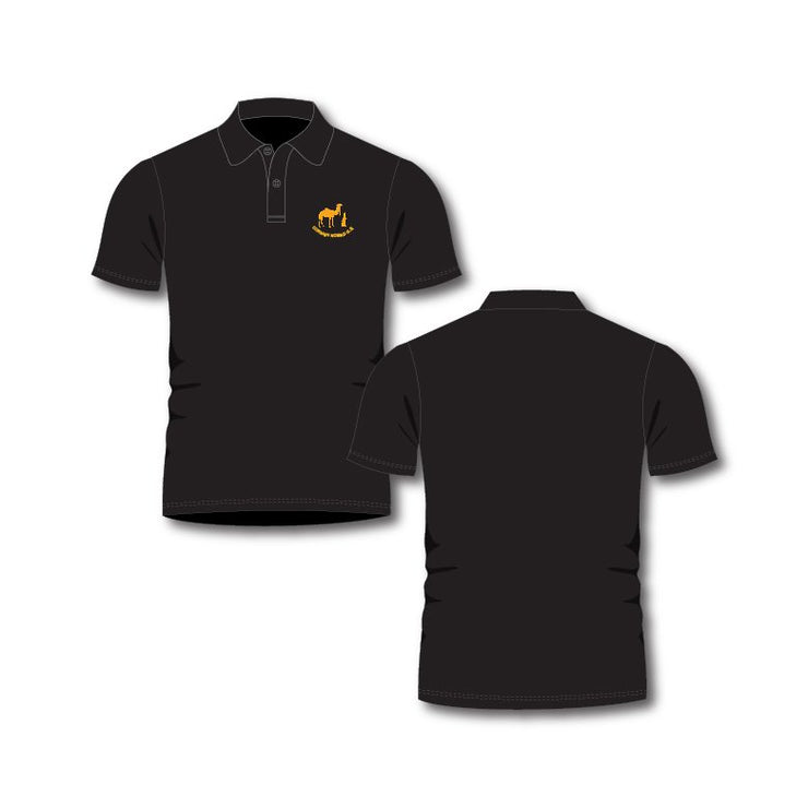 Cornish Nomad GS Black Polo Shirt