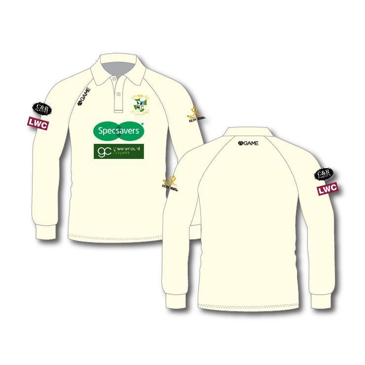 CAMBORNE CC ADULT L/S PLAYING SHIRT