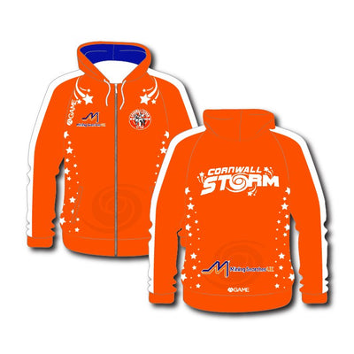 Storm NC Jnr Sublimated Zip Up Hoody