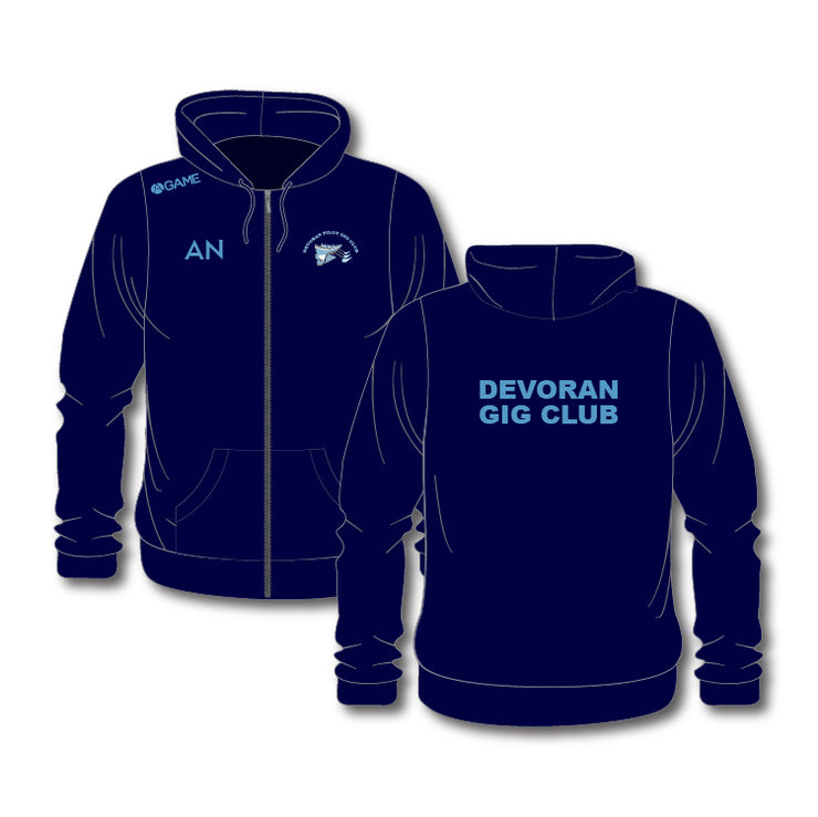Devoran GC Womens Zip Hoody