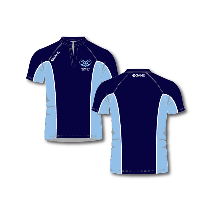 Falmouth School Junior Boys Rugby Shirt