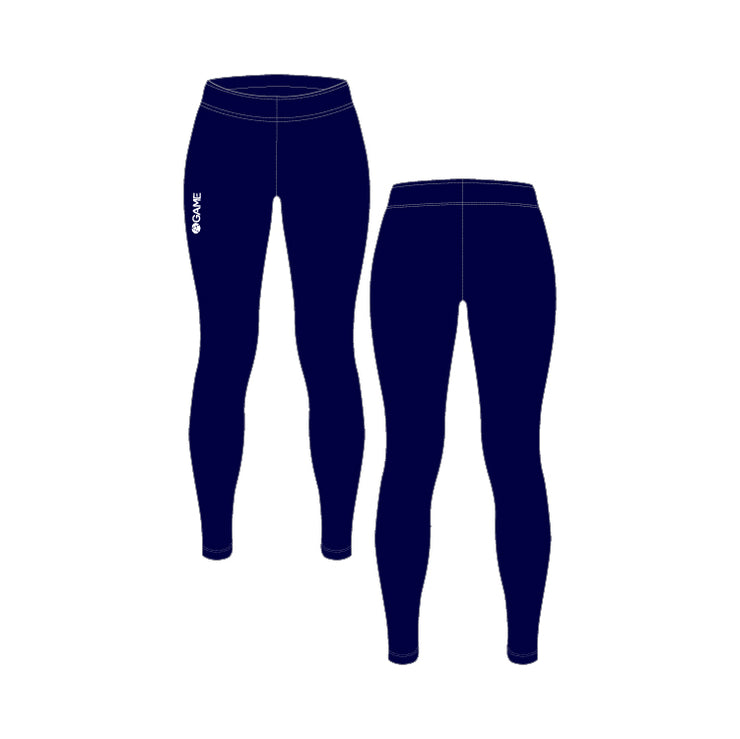 Adult Navy Leggings