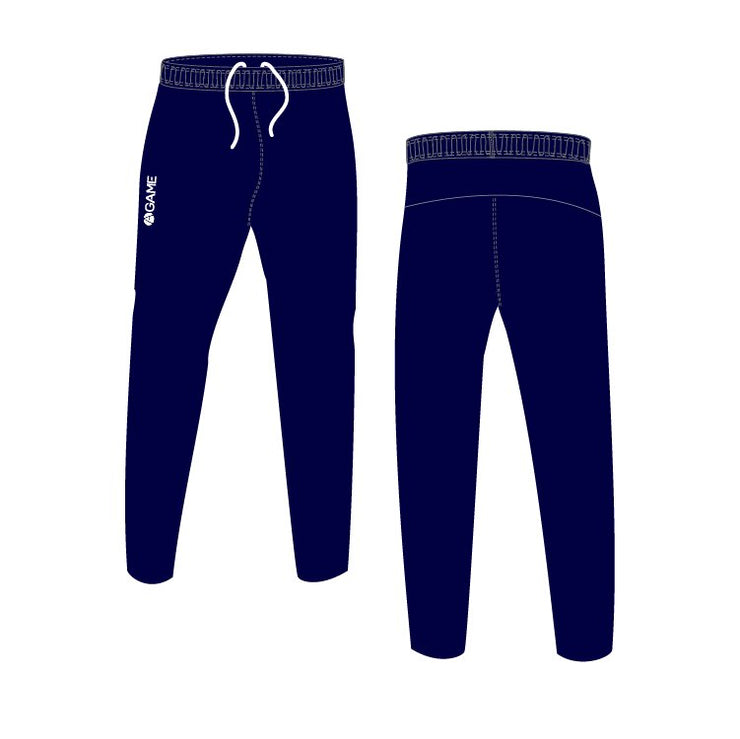 Navy ADT Skinny Fit Tracksuit Bottoms