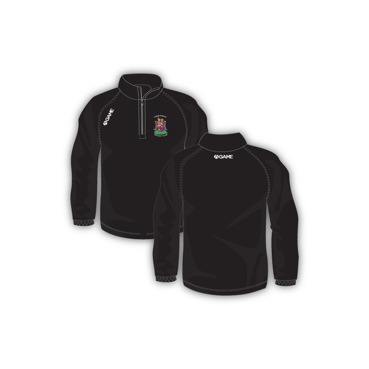 Lanhydrock CC Junior 1/4 Zip Midlayer