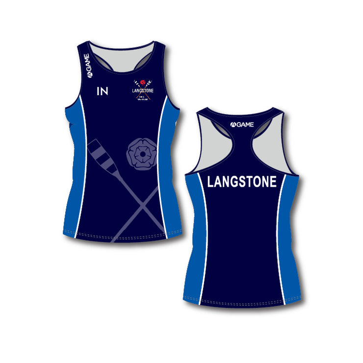 Langstone PGC Womens Racer Back Vest