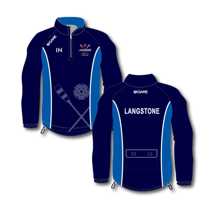 Langstone PGC 1/4 Rowing Jacket (With Hood)