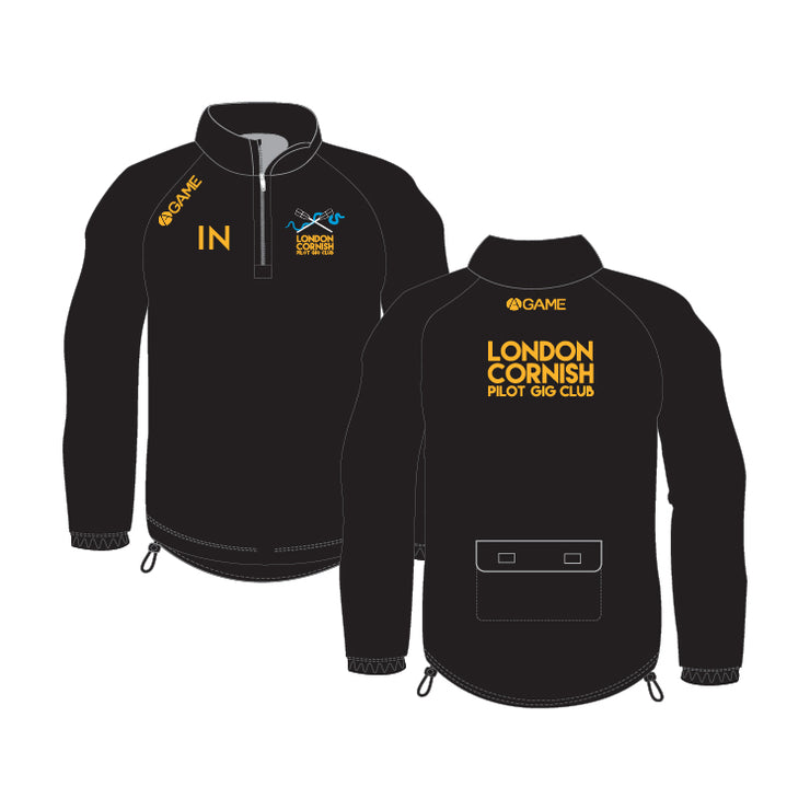 LCPGC 1/4 Zip Rowing Jacket (Hood)