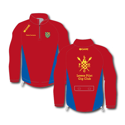 Lewes PGC Womens 1/4 Zip Rowing Jacket (No hood)