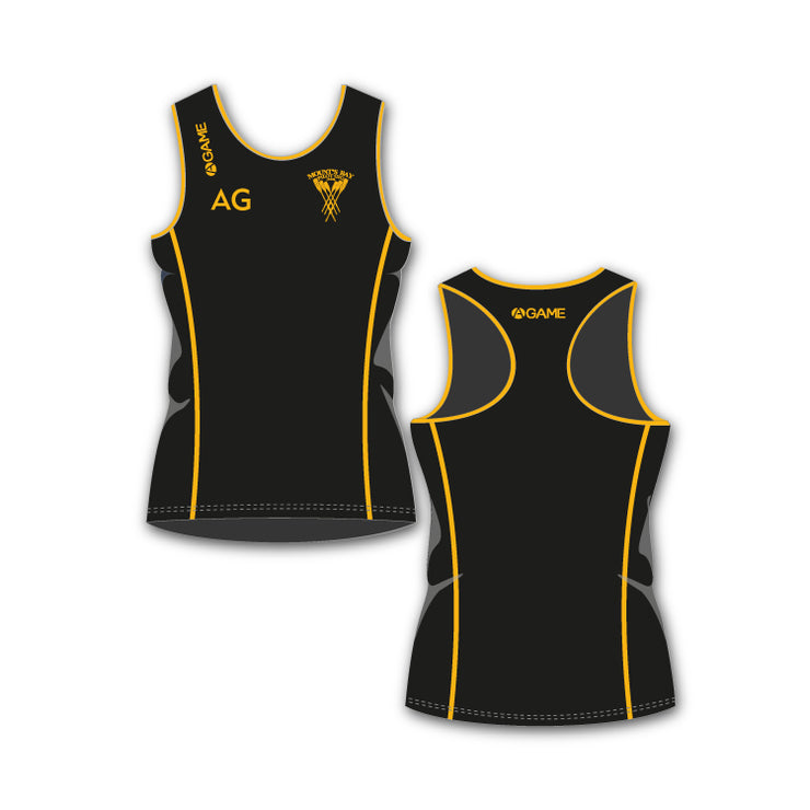 MBPGC Womens Racerback Vest (Long length)