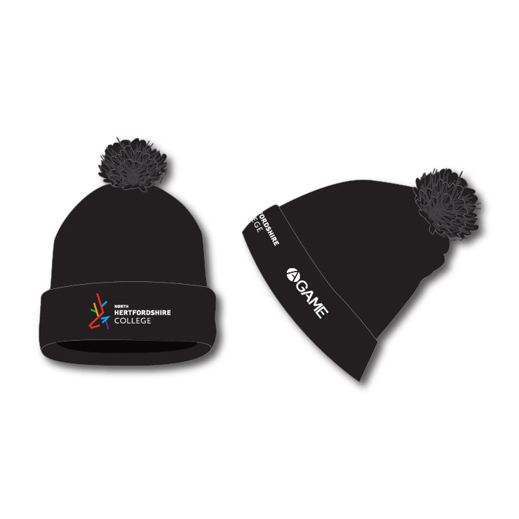 North Herts Bobble Hat