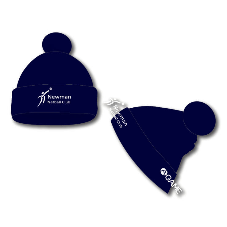 Newman Netball Club Bobble Hat