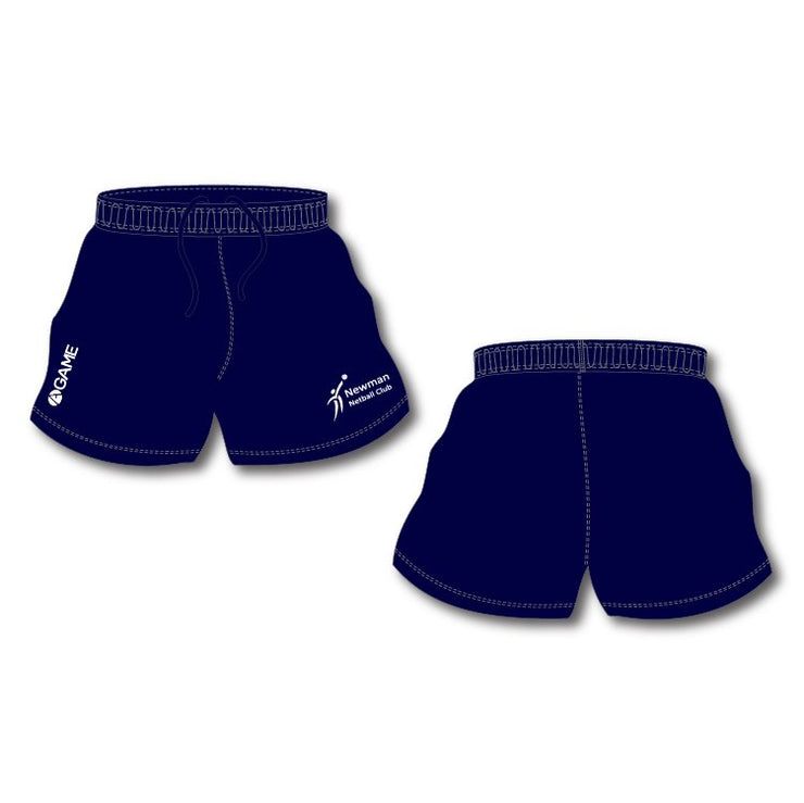 Newman Netball Club Junior Shorts