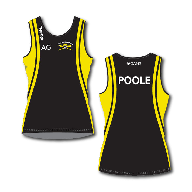 Poole Gig Club Ladies Rowing Vest Standard Length