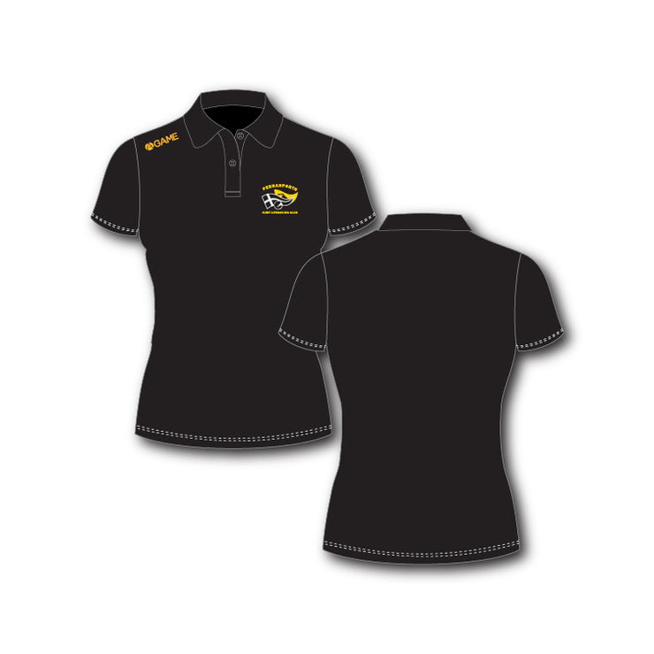 Perranporth SLSC Ladies Polo Shirt
