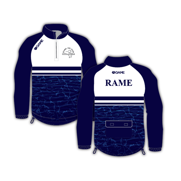 RAME ROWING CLUB ROWING JACKET (no hood)