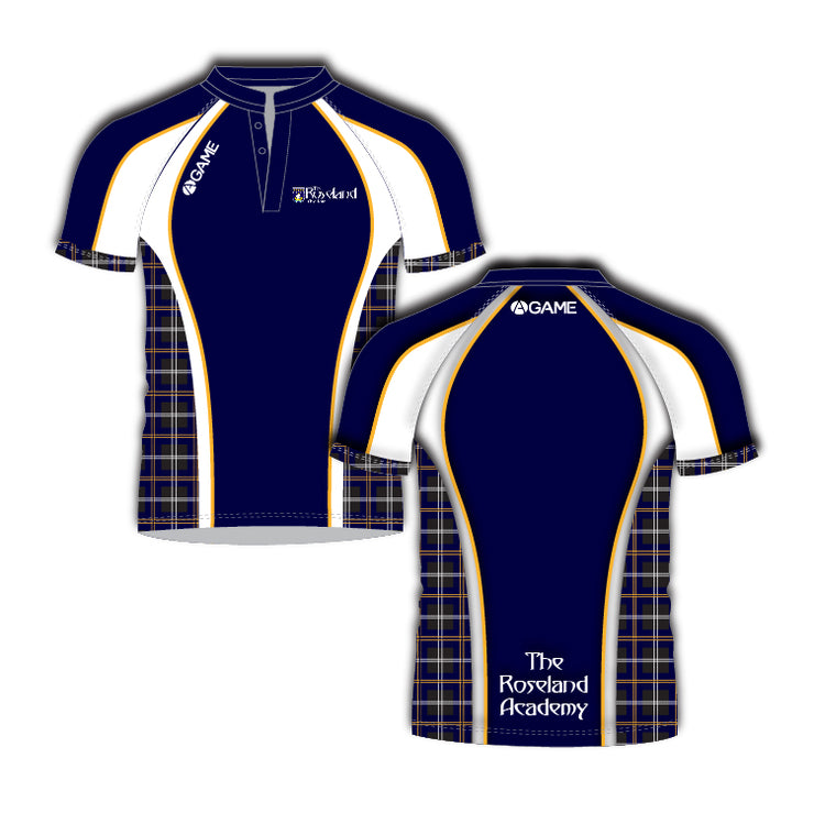 Roseland Academy Junior Rugby Shirt - New