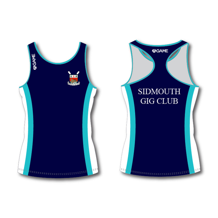Sidmouth GC Womens Racer Back Vest - R
