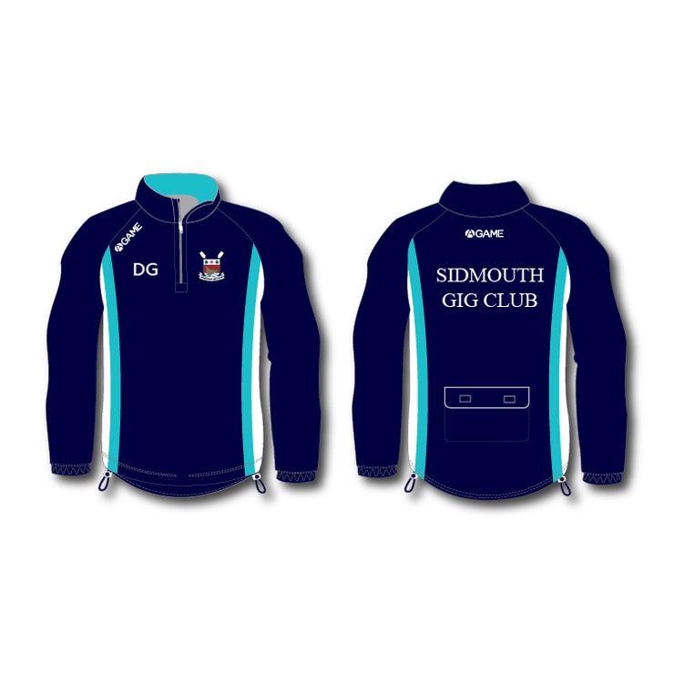 Sidmouth GC Mens Rowing Jacket (hood)