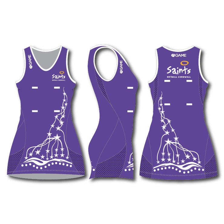 Saints Adult Elite Netball Dress