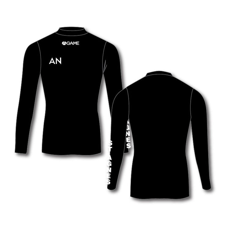 St Agnes NC Adult Baselayer - Black