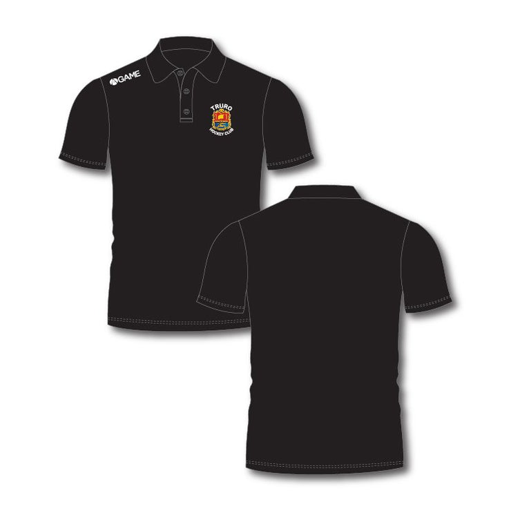 Truro HC Ladies Polo Shirt - Black