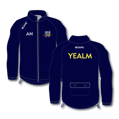 Yealm PGC Mens Full Zip Rowing Jacket with hood