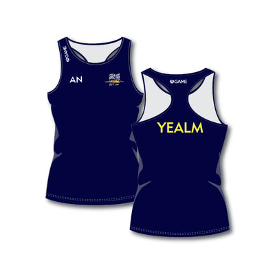 Yealm PGC Ladies Racerback Vest LONG