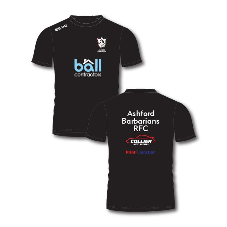 Ashford Barbarians RFC Adult Training Tee