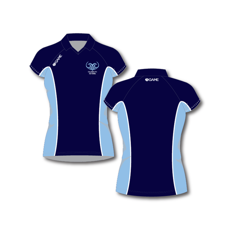 Falmouth School Adult Girls Polo Shirt