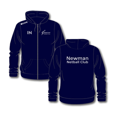 Newman Netball Club Junior Zip Hoodie