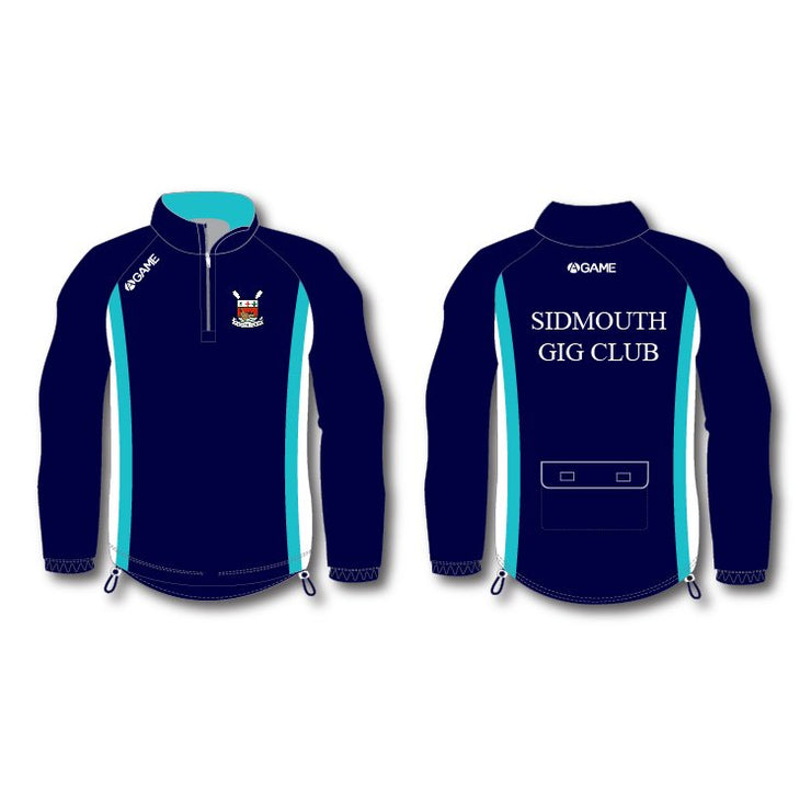 Sidmouth GC Mens Rowing Jacket (no hood)