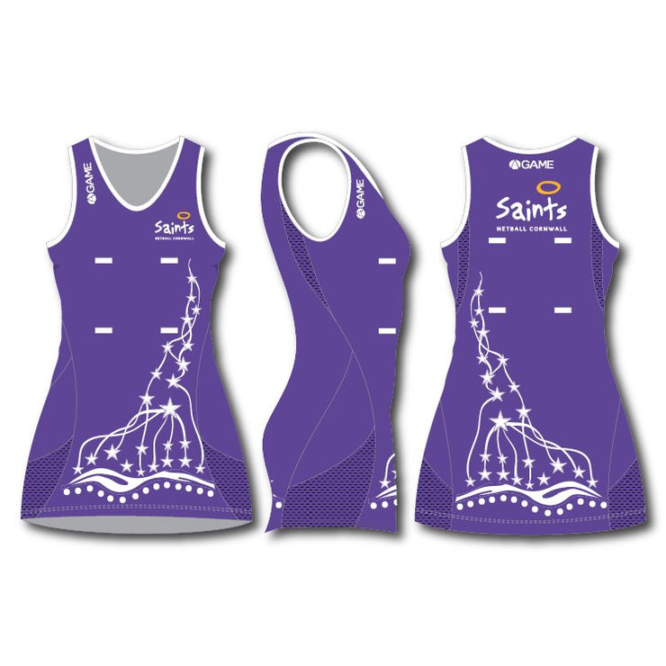 Saints Junior Elite Netball Dress