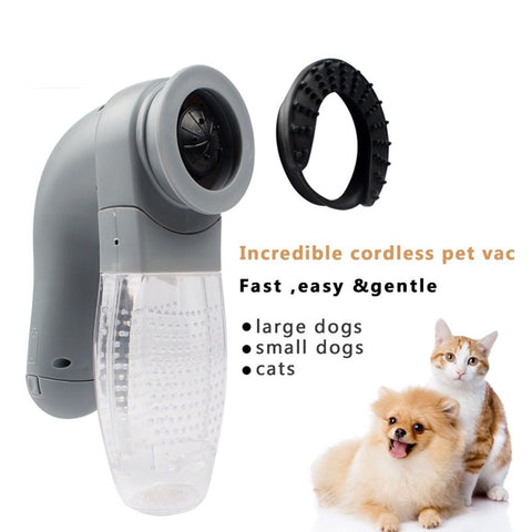 Pet Dog Cat Electric Vac Hair Remover Supply Grooming Clean Fur Mascotas Cachorro Chien Perros Gatos