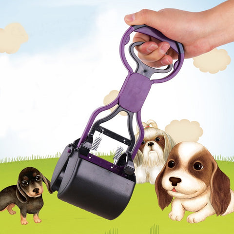 High Quality Dog Cat Pet Pooper Scooper Jaw Poop Scoop Clean Pick Up Waste Clean Cleaner Pet Products Floor Dogs Shit Cleaning