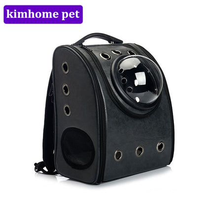 New Pet Carrier Backpack Space Cat Dog Carrier Capsule Bags with Zipper Breathable Carrier Bag Cat and Dog Outdoor Product MPA20