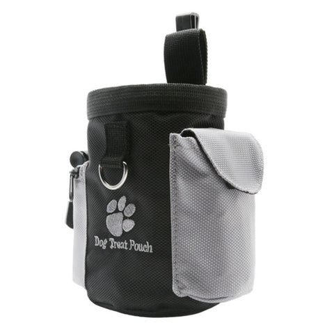 Portable Pet Dog Treat Pouch Dog Training Treat Bags Pet Feed Pocket Pouch Puppy Snack Reward Waist Bag Oxford Pockets 8F10