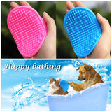 Pet Dog Cat Hair Glove Cleaning Brush For Combing Dogs Grooming Supply Finger Brush Touch For Pet Cat Hair Clean Brush 30