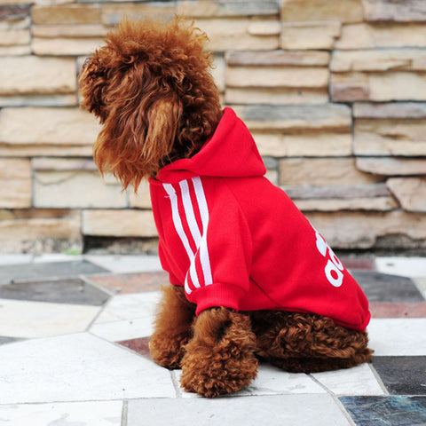 Hot Sale Autumn And Winter Dog Clothes Pets Coats Pet Products Soft Cotton Puppy Dog Clothes For 7 colors Size : XS-2XL
