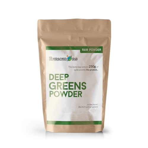 Organic Greens Powder (Deep Greens)