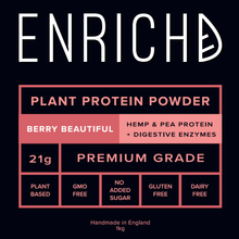 BERRY Beautiful PROTEIN Powder (Plant Based)
