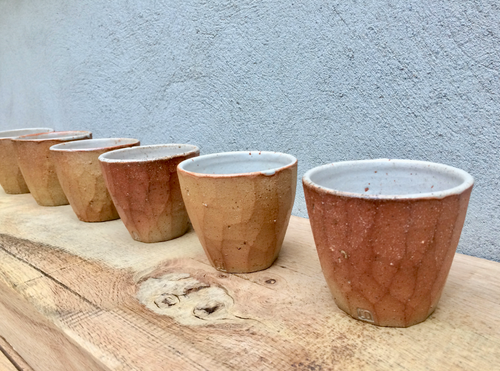 Handmade Ceramic Cups (Wood-firing Handmade Ceramic Cups/Bowls)