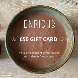 ENRICHD SUPERFOODS Gift Card