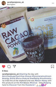 Cacao Powder Arriba Nacional (Raw and Organic Sourced)