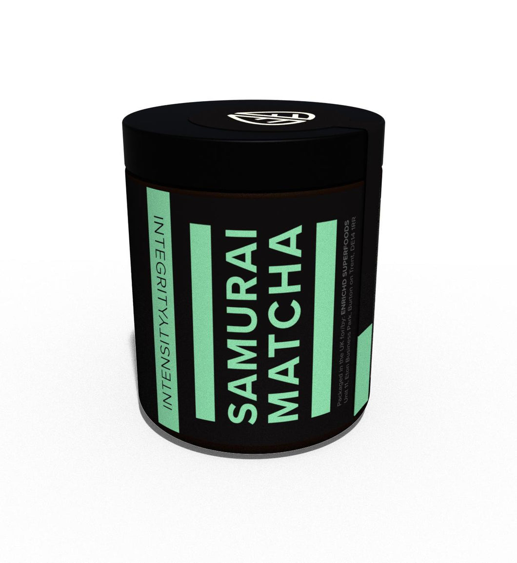 Samurai Matcha Powder Tea Ceremonial Grade (Organically grown)
