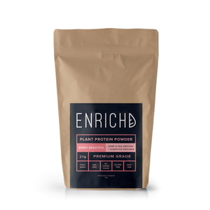 enrichd berry vegan protein powder