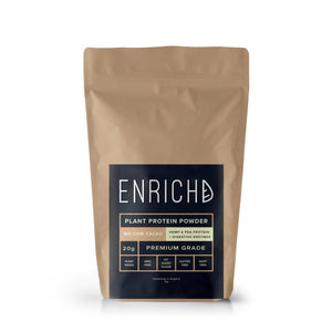 vegan protein by enrichd no cow cacao