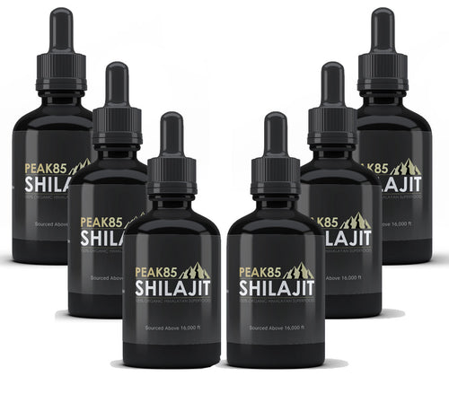 6 Month Supply - Peak85 SHILAJIT
